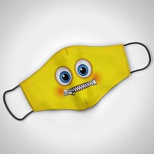 Máscara Adulto Fem Zipped - Pack 02 unidades