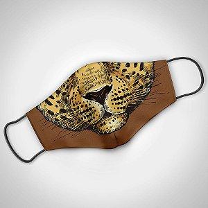 Máscara Adulto Fem Leopard - Pack 02 unidades