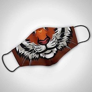 Máscara Adulto Masc Tiger  - Pack 02 unidades