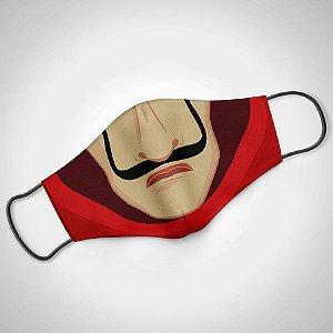 Máscara Adulto Masc CASA DE PAPEL -  Pack 02 unidades