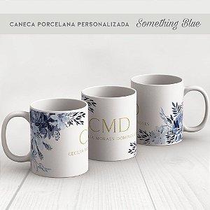 CANECA PORCELANA SOMETHING BLUE