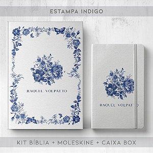 BIBLIA + MOLESKINE + BOX  - INDIGO