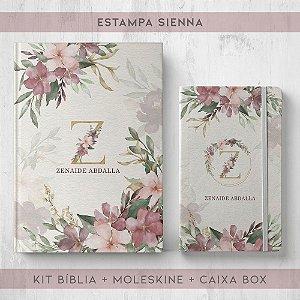 BIBLIA + MOLESKINE + BOX  - SIENNA