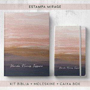 BIBLIA + MOLESKINE + BOX  - MIRAGE