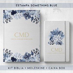 BIBLIA + MOLESKINE + BOX  - SOMETHING BLUE