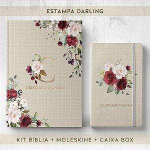 BIBLIA + MOLESKINE + BOX  - DARLING