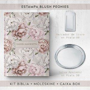 BIBLIA + SALVA + MARCADOR + BOX  - PEONIES