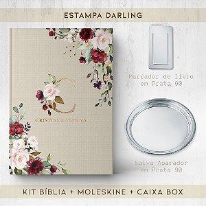 BIBLIA + SALVA + MARCADOR + BOX  - DARLING