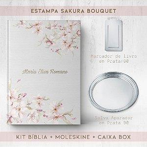 BIBLIA + SALVA + MARCADOR + BOX  - SAKURA BOUQUET
