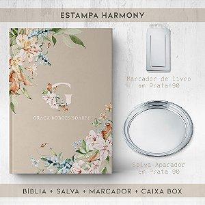 BIBLIA + SALVA + MARCADOR + BOX  - HARMONY