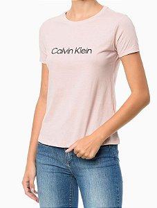 Camiseta Gola Careca Calvin Klein