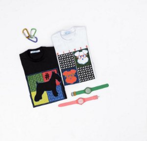 T-shirt com Silk Olver Manga Longa Preto