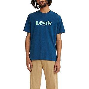 Camiseta  Adulto Levi´s Azul Verde