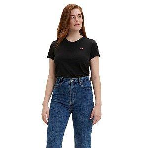T-shirts Levi´s Adulto Preto Basica