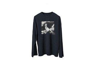 Camiseta Mini ml Estampada Nuvens
