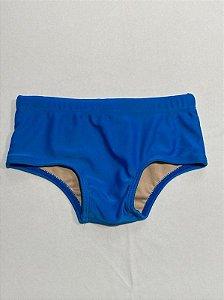 Sunga Cavada Lisa Azul