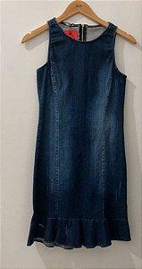 Vestido Karapalida Jeans Escuro