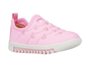 Tênis Infantil Bibi Feminino Rosa Com Glitter Roller New