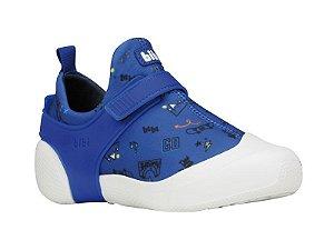 Tênis Infantil Bibi 2Way Masculino Azul Estampado
