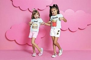T-Shirts Infantil Feminino De Blusas Best Friends
