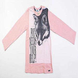 T-Shirt Infantil Masculino Estampa Floresta e Campo