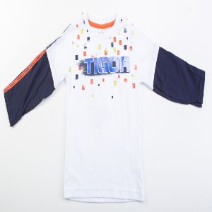 Camiseta Infantil Masculino Tigor T. Tigre Branco