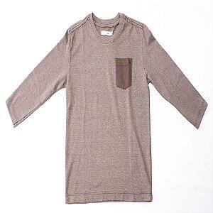 Camiseta Reserva Mini Manga Longa Bolso