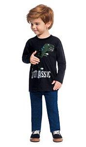 Camiseta Infantil Masculina Kyly Meia Malha