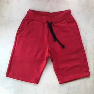 Bermuda Infantil Masculina de Moletom Colors