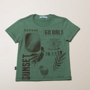 Camiseta Infantil Masculino silk Suset