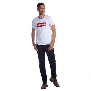 Camiseta Levi's Branco Logo Tradicional