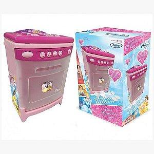 Cozinha Infantil Princesas Disney Com Som Fogão Panelinhas