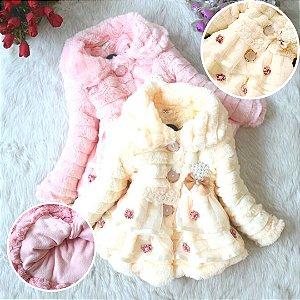 Casaco Infantil Luxo