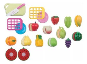 Hortifruti Frutas De Brinquedo Crec 18 Peças