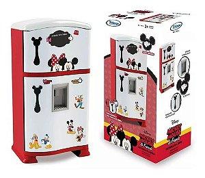 Geladeira Cozinha Infantil Mickey Minnie Refrigerador Disney