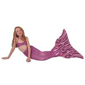 Cauda De Sereia C/ Nadadeira E Sapatinho Neoprene  Lara