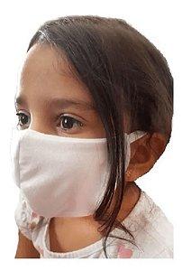 Máscara Dupla de Algodão Infantil - c/ Elástico