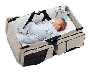 Bolsa Maternidade Moisés 3em1 Multifuncional Porta Mamadeira