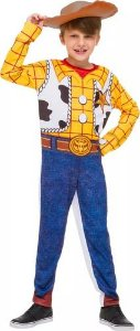 Fantasia Woody Longa Cowboy Toy Story 3 Com Chapeu Infantil
