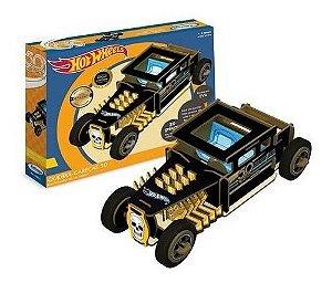 Quebra-cabeça 3d Infantil Hot Wheels Quebra Cabeca Puzzle