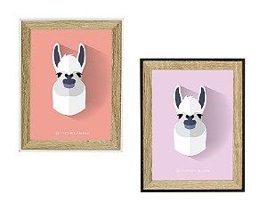 Porta Retrato MDF, Vidro e Plástico