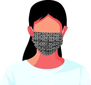 Máscara Tecido Estampada Reutilizável Personalizada Logomarca Empresa Kit 7 Peças