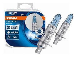 Lampada Osram Cool Blue Intense H1 Par Xenon Look 4200k