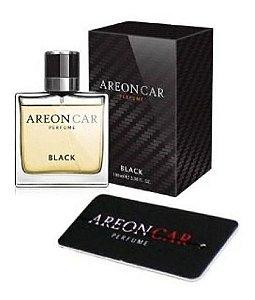 Areon Aromatizante Automotivo Black 50ml Perfume + Difusor