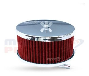 Filtro De Ar Esportivo Fusca Ar Carburação Simples Vermelho
