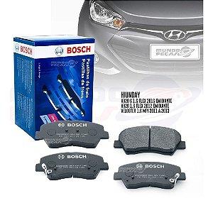 Kit Pastilha Freio Original Bosch Hyundai Hb20 1.6 Flex