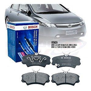 Jogo Pastilha Freio Dianteiro Bosch Honda New Civic E Civic