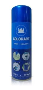 Tinta Spray Azul Metálico Colorart 300ml