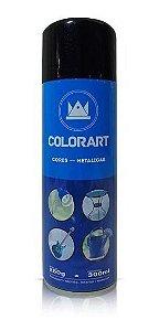 Tinta Spray Preto Metálico Colorart 300ml