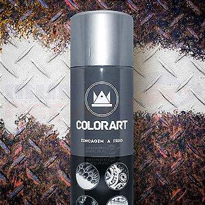 Tinta Spray Zincagem A Frio Colorart 300ml - Evita Corrosão